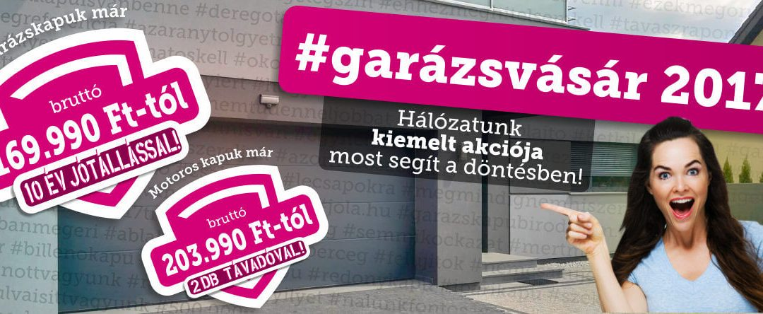 #Garázsvásár17' – most vagy soha